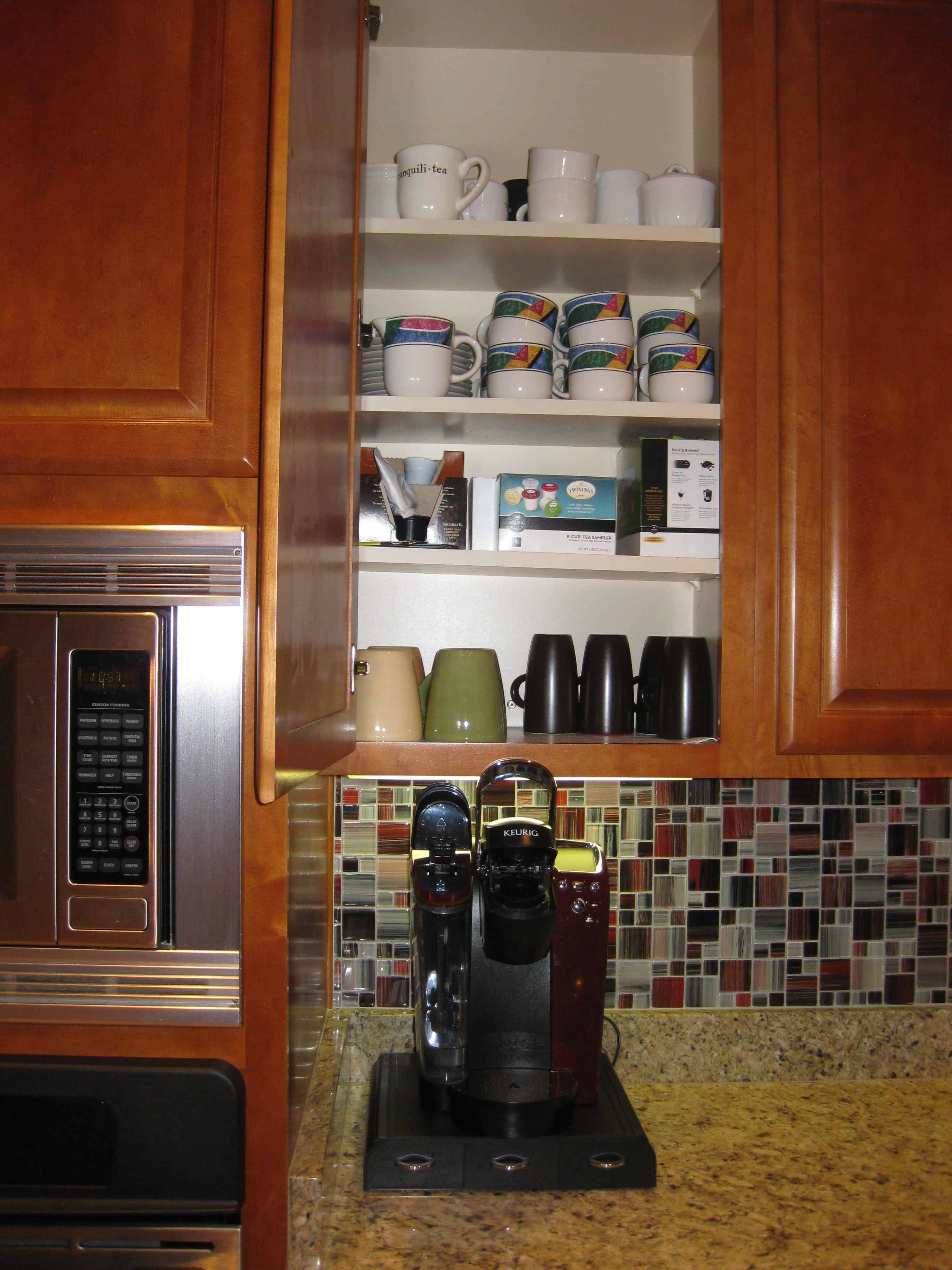 100 Coffee Stations In Kitchens Diy Coffee Corner How To Build A Hidden Coffee Station