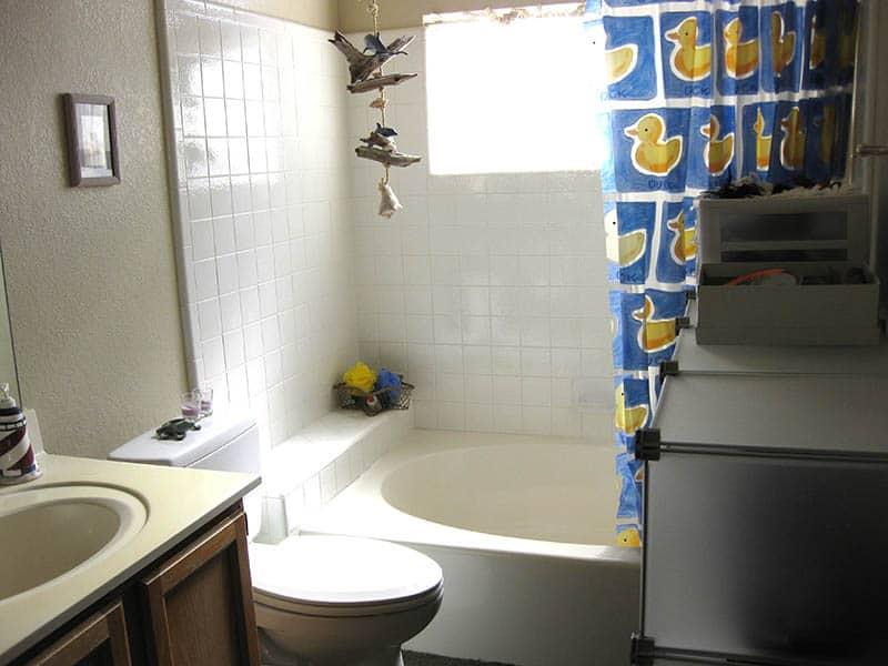 Organized Guest Bathroom - After