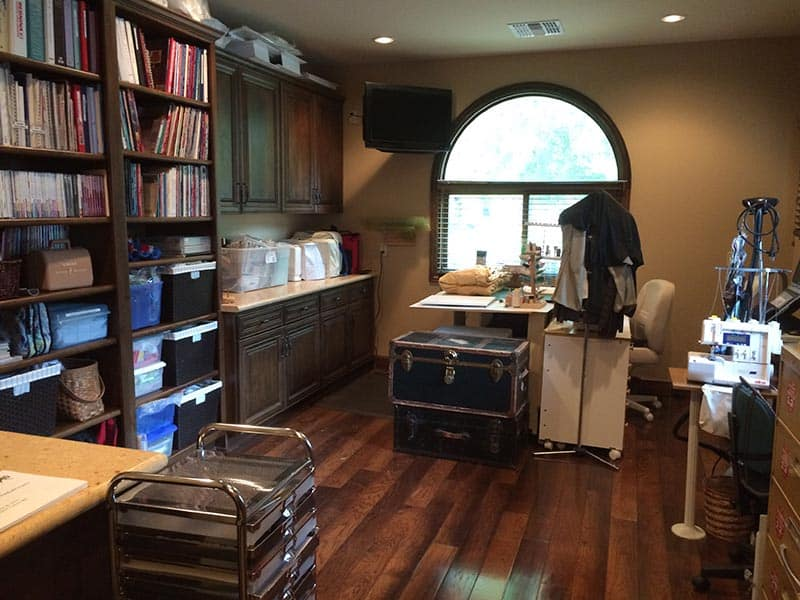 Professionally Organized Craft Room - After