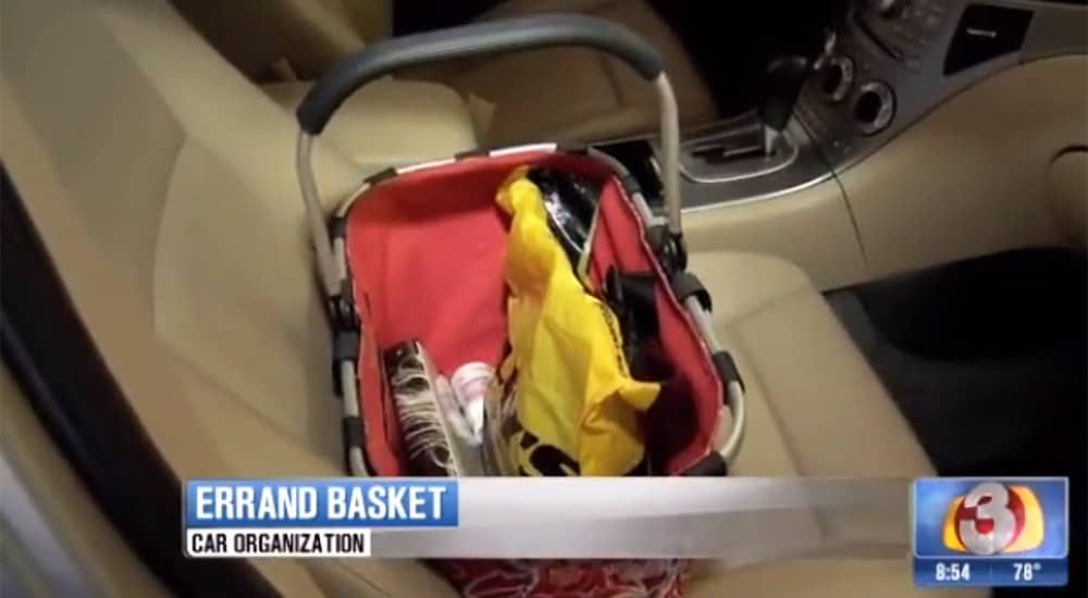 Errand basket for your car